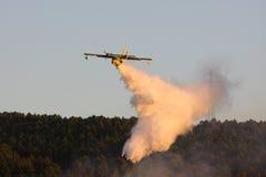 pożarniczy samolot obrazy royalty free