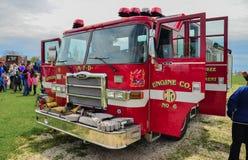 Pożarniczy silnik Zdjęcia Royalty Free