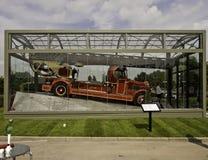Pożarniczy silnik Obrazy Stock