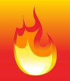 Pożarniczy symbole Obrazy Royalty Free