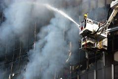 Pożarniczy warden zdjęcie stock