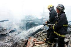 Pożarniczy wojownicy Fotografia Royalty Free