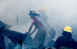 Pożarniczy wojownicy Obraz Royalty Free