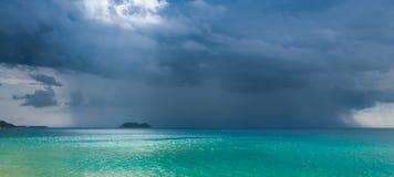 Po burzy, chmury Fotografia Royalty Free