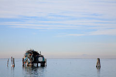 Po Chioggia λιμένας ποταμών Στοκ φωτογραφίες με δικαίωμα ελεύθερης χρήσης