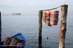 Po Chioggia λιμένας ποταμών Στοκ Φωτογραφίες