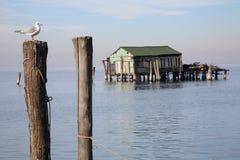 Po Chioggia λιμένας ποταμών Στοκ φωτογραφία με δικαίωμα ελεύθερης χρήσης