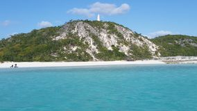 Pończochy wyspy zabytek zdjęcie royalty free