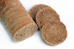 Pão de centeio cortado Imagens de Stock