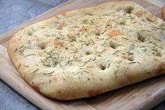 Pão de Foccacia Foto de Stock