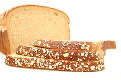 Pão delicioso do trigo do mel Imagens de Stock