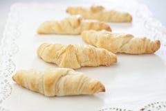 Pão do croissant Fotografia de Stock Royalty Free