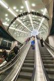 Po drugie linia Warszawski metro Zdjęcie Royalty Free