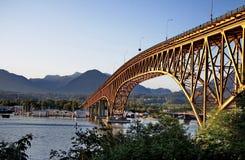 Po drugie Wąski most Zdjęcie Royalty Free