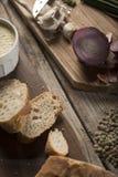 Pão e vegetais Imagem de Stock Royalty Free