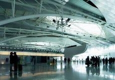 Pożegnanie w lotnisku Fotografia Royalty Free