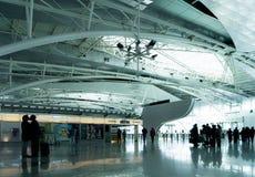 Pożegnanie w lotnisku Obrazy Royalty Free