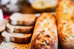 Pão em diferente Imagens de Stock