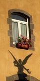 po francusku okno iii zdjęcie royalty free