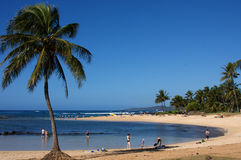 Po'ipu, Kaua'i, Hawaï Photos stock