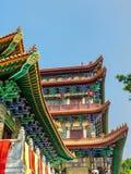 Po Lin μοναστήρι που βρίσκεται στο οροπέδιο μεταλλικού θόρυβου Ngong, στο νησί Lantau, Χονγκ Κονγκ Στοκ Φωτογραφίες