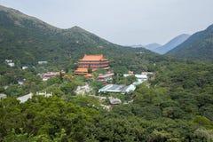 Po Lin μοναστήρι στο νησί Lantau, Χογκ Κογκ Στοκ Φωτογραφία