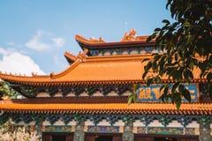 Po Lin μοναστήρι στο νησί Lantau Στοκ φωτογραφίες με δικαίωμα ελεύθερης χρήσης