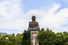Po Lin μοναστήρι στο Χονγκ Κονγκ, νησί Lantau Στοκ Φωτογραφία