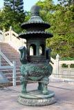 Po Lin μοναστήρι στο Χονγκ Κονγκ Στοκ Φωτογραφίες