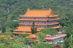 Po Lin μοναστήρι, Χογκ Κογκ Στοκ Εικόνες
