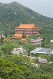 Po Lin μοναστήρι, Χογκ Κογκ Στοκ Φωτογραφία