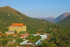 Po Lin μοναστήρι Στοκ φωτογραφίες με δικαίωμα ελεύθερης χρήσης
