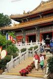 Po Lin μοναστήρι, Lantau, Χογκ Κογκ Στοκ φωτογραφίες με δικαίωμα ελεύθερης χρήσης