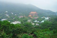 Po Lin μοναστήρι, Lantau, Χογκ Κογκ Στοκ φωτογραφία με δικαίωμα ελεύθερης χρήσης
