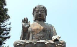 Po Lin ναός Lantau Στοκ Εικόνα