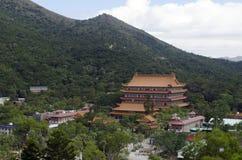 Po Lin klooster Royalty-vrije Stock Foto
