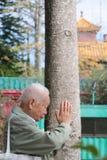 Po Lin monaster w Hong Kong, Chiny Obraz Stock