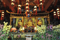 Po Lin Monastery. Located on Lantau Island, Hong Kong Stock Photos