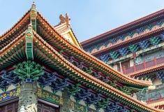 Po Lin Monastery Detail fotografia stock libera da diritti