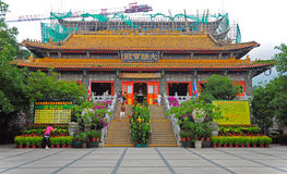 Po lin monastery in hong kong Royalty Free Stock Photos