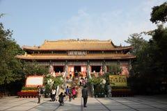 Po Lin Monastery in Hong Kong Royalty-vrije Stock Afbeeldingen