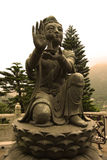 Po Lin Monastery, Hong Kong, stock afbeelding