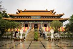 Po Lin Monastery - Hong Kong fotografia stock libera da diritti