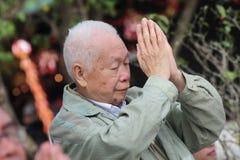 Po Lin Monastery in Hong Kong, China Royalty Free Stock Photos