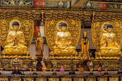Po Lin Monastery, ilha de Lantau, Hong Kong, China fotografia de stock royalty free