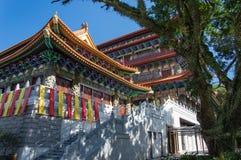 Po Lin Monastery, isola di Lantau, Hong Kong, Cina immagine stock libera da diritti