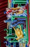 Po Lin Monastery, isola di Lantau, Hong Kong, Cina fotografia stock