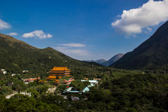 Po Lin Monastery Royalty Free Stock Photo