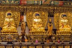 Po Lin Monastery, Lantau ö, Hong Kong, Kina Royaltyfri Fotografi