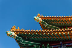 Po Lin Monastery, Lantau Island, Hong Kong, China. Royalty Free Stock Photo